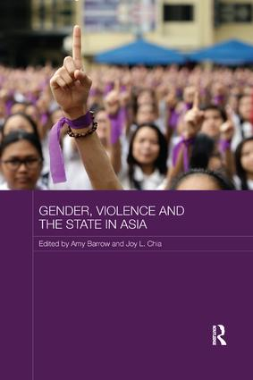 Gender, Violence and the State in Asia: 1st Edition (Paperback) book cover