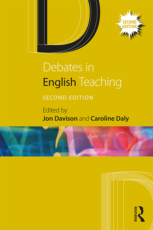 Debates in English Teaching: 2nd Edition (Paperback) book cover