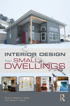 Interior Design for Small Dwellings: 1st Edition (Paperback) book cover