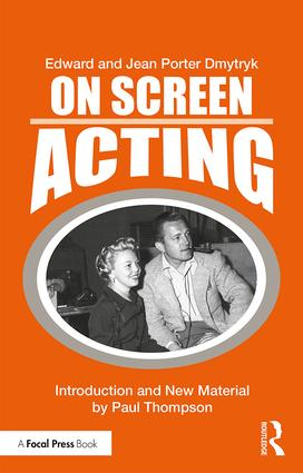 On Screen Acting: An Introduction to the Art of Acting for the Screen book cover