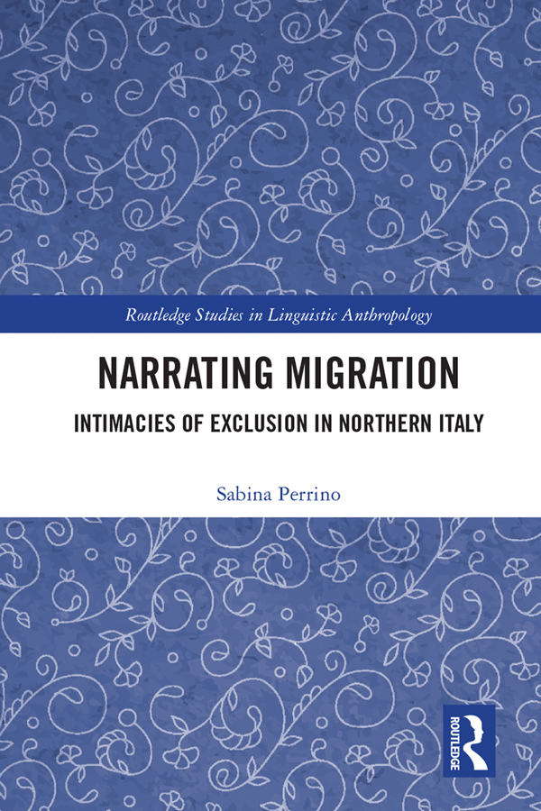 Narrating Migration: Intimacies of Exclusion in Northern Italy book cover