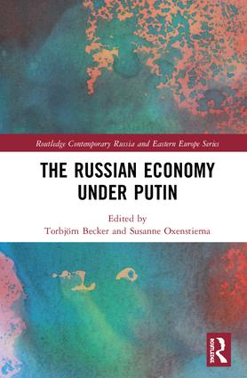 The Russian Economy under Putin book cover