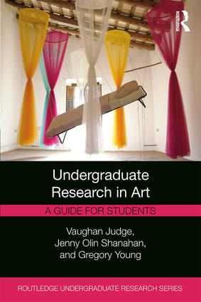 Undergraduate Research in Art: A Guide for Students book cover