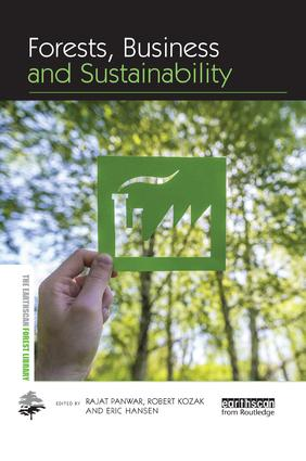 Forests, Business and Sustainability: 1st Edition (Paperback) book cover