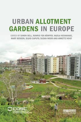 Urban Allotment Gardens in Europe: 1st Edition (Paperback) book cover