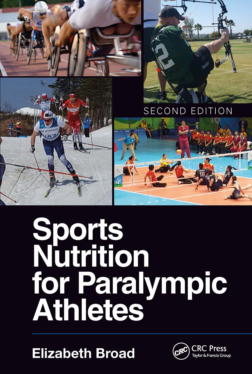 Sports Nutrition for Paralympic Athletes, Second Edition book cover