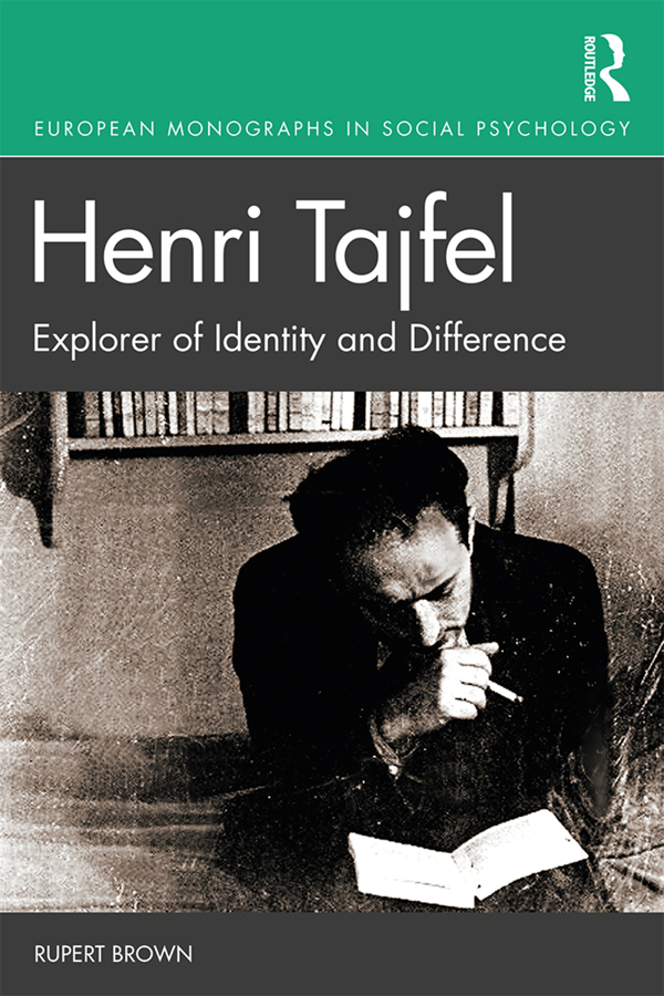 Henri Tajfel: Explorer of Identity and Difference: 1st Edition (Paperback) book cover