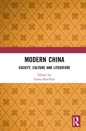 Modern China: Society, Culture and Literature book cover