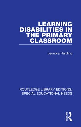 Learning Disabilities in the Primary Classroom book cover
