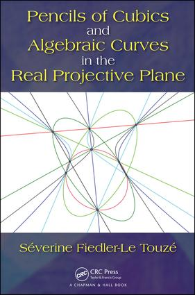 Pencils of Cubics and Algebraic Curves in the Real Projective Plane