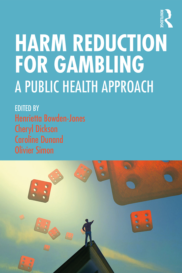 Harm Reduction for Gambling: A Public Health Approach book cover