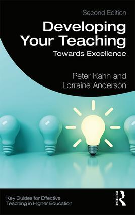 Developing Your Teaching: Towards Excellence, 2nd Edition (Paperback) book cover
