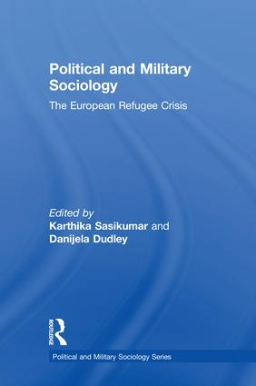 Political and Military Sociology: The European Refugee Crisis book cover