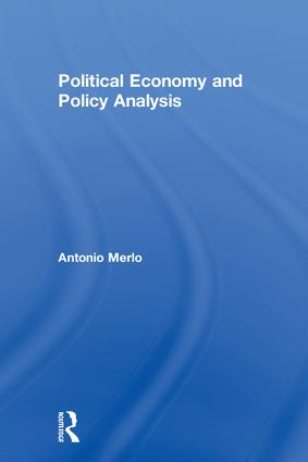 Political Economy and Policy Analysis: 1st Edition (Hardback) book cover