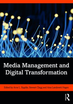Media Management and Digital Transformation: 1st Edition (Paperback) book cover