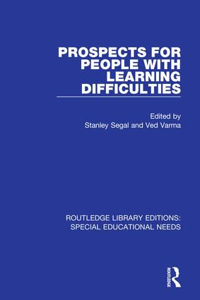Prospects for People with Learning Difficulties book cover
