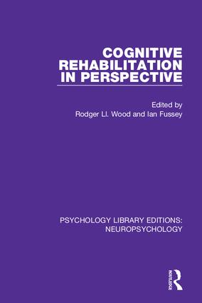 Cognitive Rehabilitation in Perspective book cover
