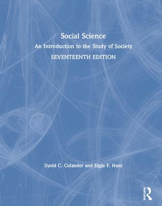 Social Science: An Introduction to the Study of Society book cover
