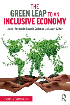 The Green Leap to an Inclusive Economy: 1st Edition (Paperback) book cover