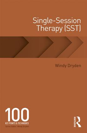 Single-Session Therapy (SST): 100 Key Points and Techniques, 1st Edition (e-Book) book cover