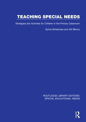 Teaching Special Needs: Strategies and Activities for Children in the Primary Classroom, 1st Edition (Hardback) book cover