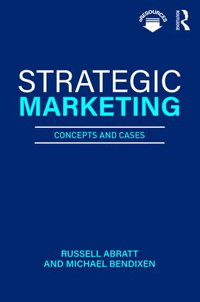 Strategic Marketing: Concepts and Cases, 1st Edition (Paperback) book cover