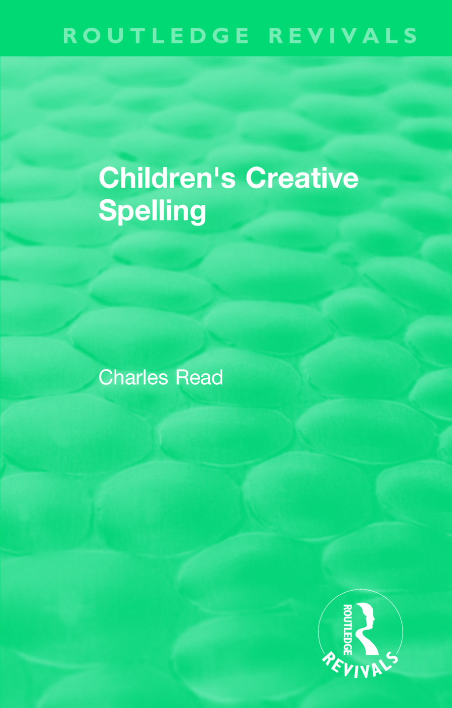 Children's Creative Spelling book cover
