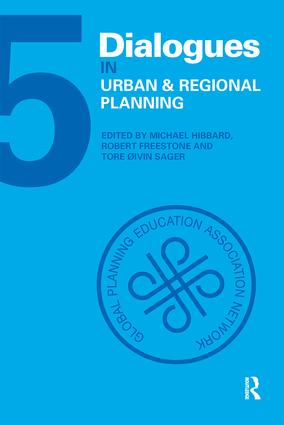 Dialogues in Urban and Regional Planning: Volume 5 book cover