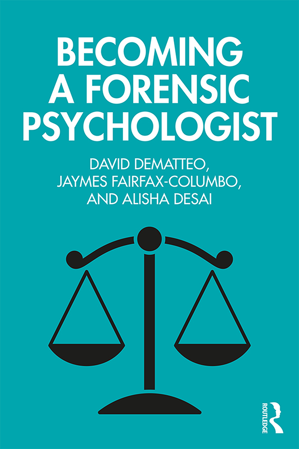 Becoming a Forensic Psychologist book cover