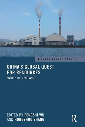 China's Global Quest for Resources: Energy, Food and Water, 1st Edition (Paperback) book cover