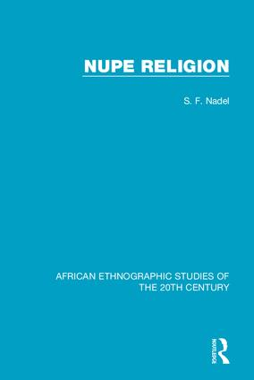 Nupe Religion: 1st Edition (Hardback) book cover
