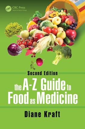 The A-Z Guide to Food as Medicine, Second Edition: 2nd Edition (Hardback) book cover