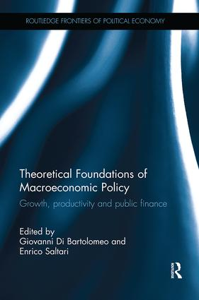 Theoretical Foundations of Macroeconomic Policy: Growth, productivity and public finance, 1st Edition (Paperback) book cover
