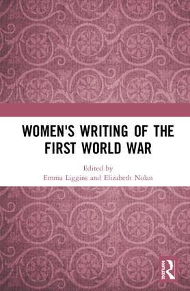 Women's Writing of the First World War book cover