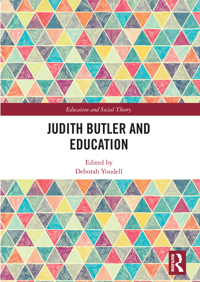 Judith Butler and Education book cover