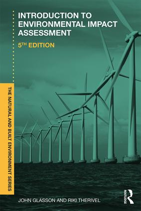 Introduction To Environmental Impact Assessment: 5th Edition (Paperback) book cover