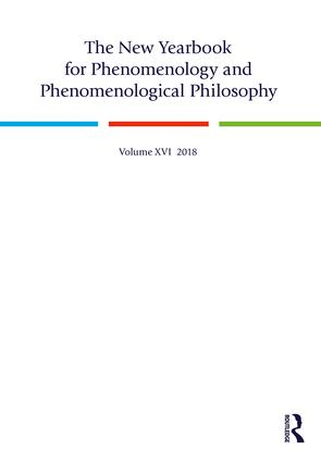 The New Yearbook for Phenomenology and Phenomenological Philosophy: Volume 16, 1st Edition (Hardback) book cover