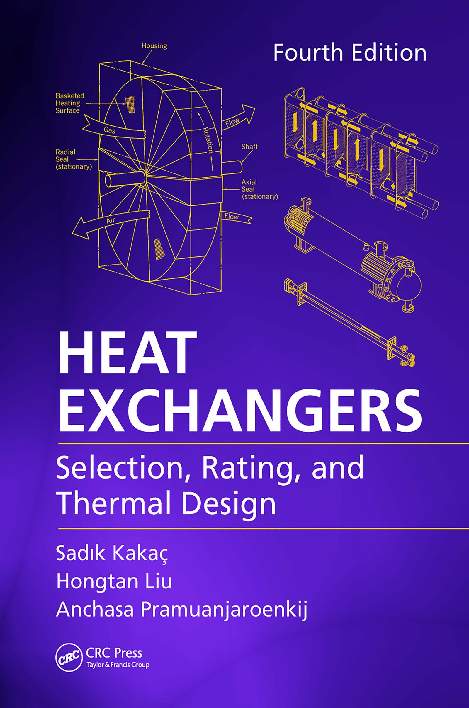 Heat Exchangers: Selection, Rating, and Thermal Design, Fourth Edition book cover