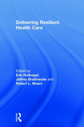 Delivering Resilient Health Care book cover