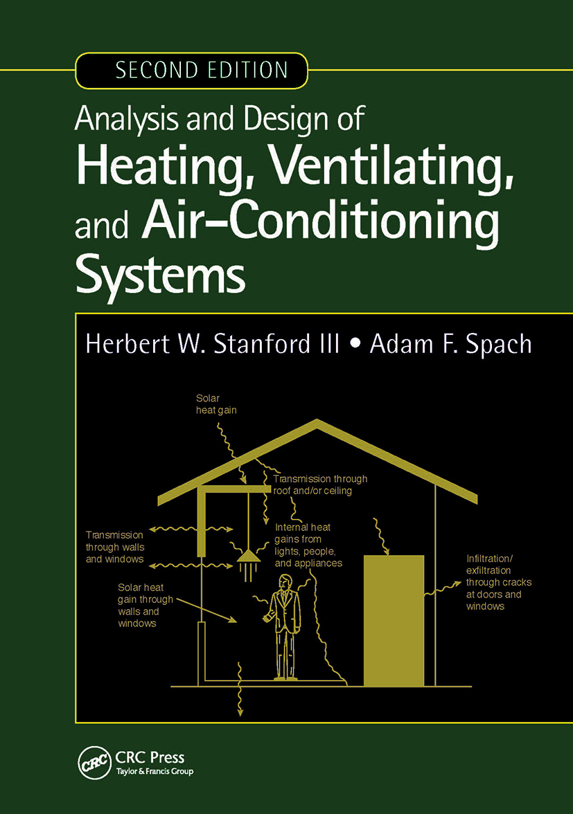 Analysis and Design of Heating, Ventilating, and Air-Conditioning Systems, Second Edition book cover