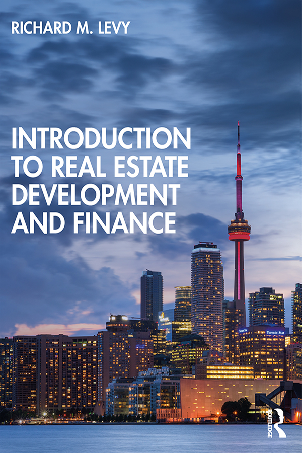 Introduction to Real Estate Development and Finance book cover