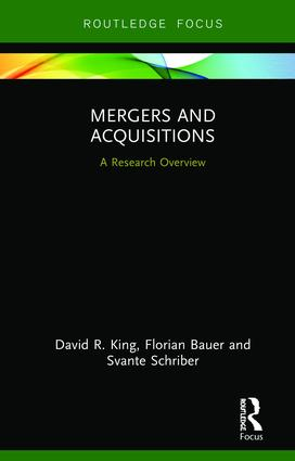 Mergers and Acquisitions: A Research Overview book cover