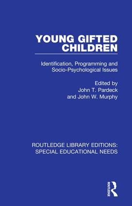 Young Gifted Children: Identification, Programming and Socio-Psychological Issues book cover