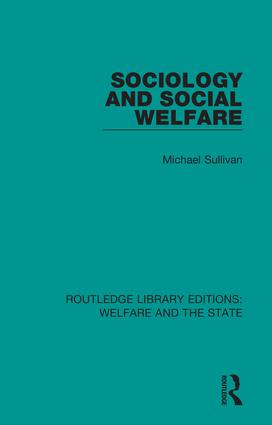 Sociology and Social Welfare book cover