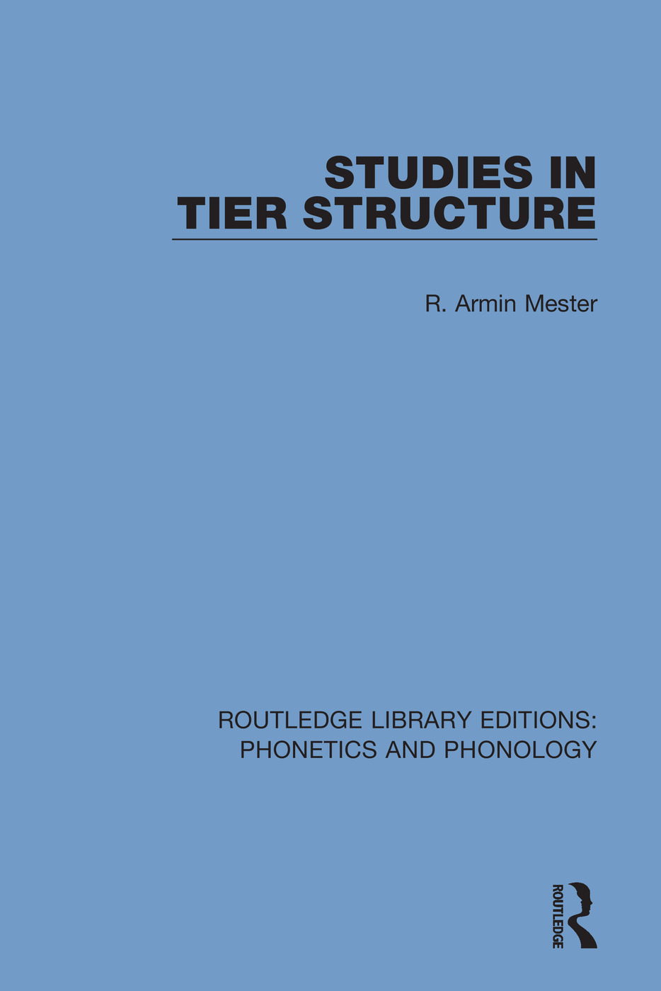 Studies in Tier Structure book cover
