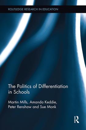 The Politics of Differentiation in Schools book cover