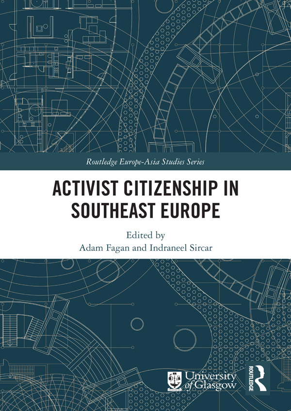 Activist Citizenship in Southeast Europe: 1st Edition (Hardback) book cover