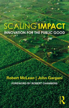 Scaling Impact: Innovation for the Public Good book cover