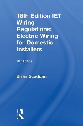 Groovy Iet Wiring Regulations Electric Wiring For Domestic Installers Wiring Database Gramgelartorg