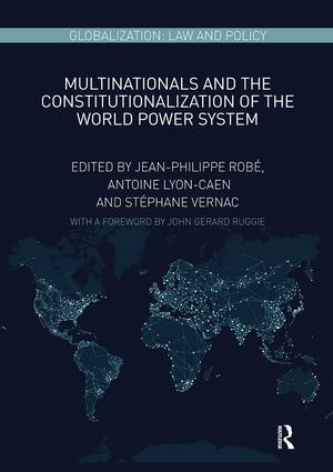 Multinationals and the Constitutionalization of the World Power System book cover
